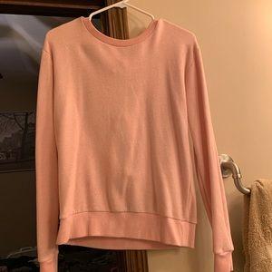 Blush pink sweater